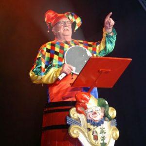 Hans Schuster in seiner Paraderolle als Memmelsdorfer Till