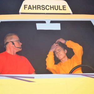 Fahrstunde mit Klaus Nickoleit und Moritz Lamprecht