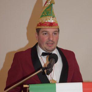 Vorstand Florian Nickoleit dankt seiner MCC-Familie