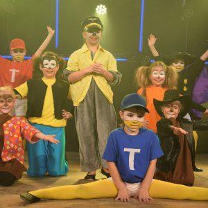 Die Bambinis mit ihrer Disney-Aufführung